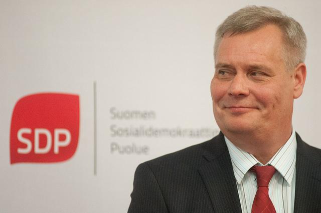 Antti Rinne, el líder socialdemòcrata finlandès / Foto: Demarit-SDP