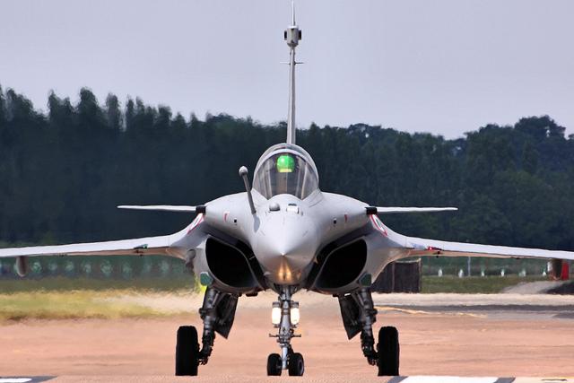 Un caça 'Rafale', de disseny i fabricació francesa / Airwolfhound