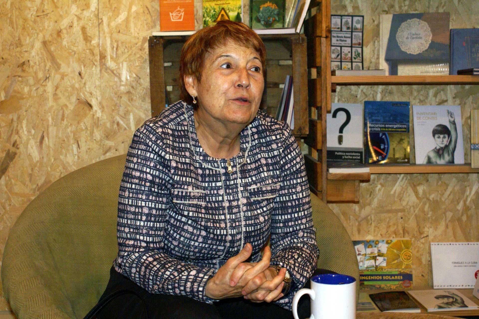 L'assagista i exdiputada per Izquierda Unida, a l'Espai Contrabandos de Barcelona / MAR CARRERA