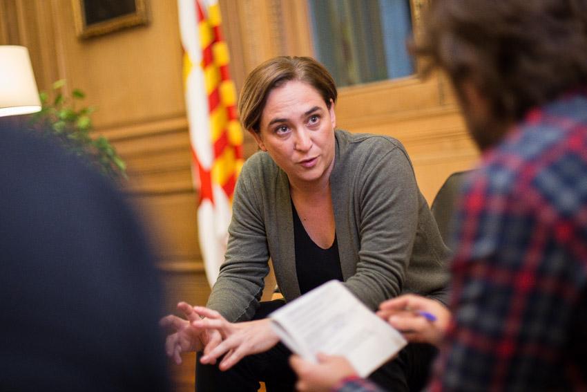 L'alcaldessa de Barcelona, Ada Colau, podria ser la líder d'una nova força política? / Jordi Borràs