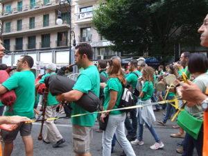 Manifestació contra el decret de trinlingüisme a Mallorca. Foto: Lleó Pastor
