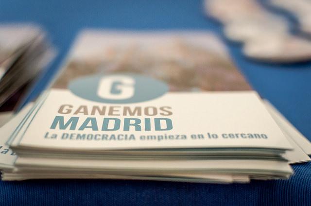 Ganemos Madrid confluirà amb Podemos i part d'IU a Ahora Madrid. Foto: CrisisPhotography