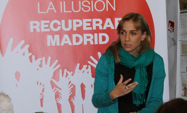 Tania Sánchez donarà suport a Podemos però no s'integrarà a les llistes. Foto: Fernando Jiménez Briz.