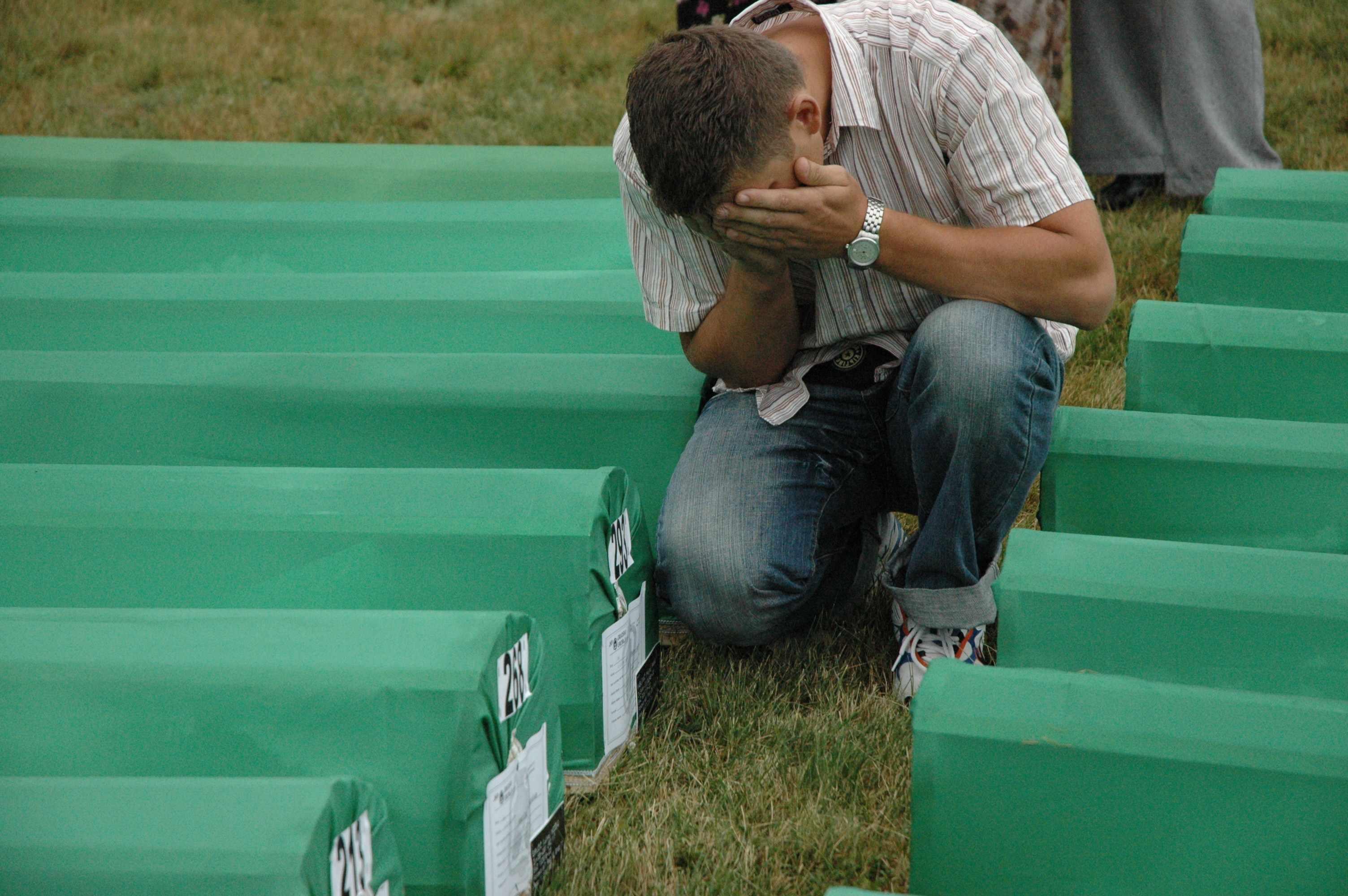 Enterraments a Srebrenica / JORDI RODRI