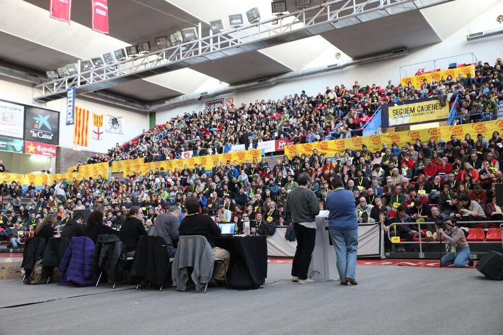 Una imatge del debat nacional de la CUP a Manresa el passat novembre. Foto: CUP