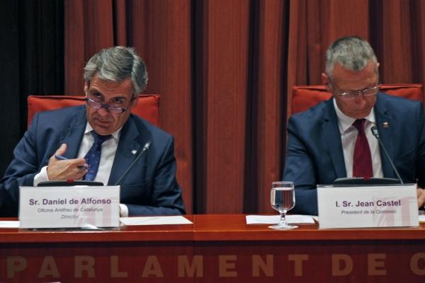 La comissió d'afers institucionals ha proposat el cessament del director de l'Oficina Antifrau, Daniel de Alfonso / PARLAMENT