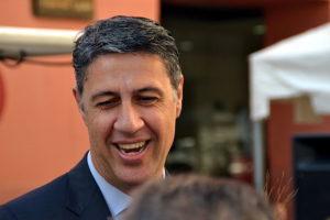 Xavier Garcia Albiol, exalcalde de Badalona i líder del PP Català. Foto: Roger Angela