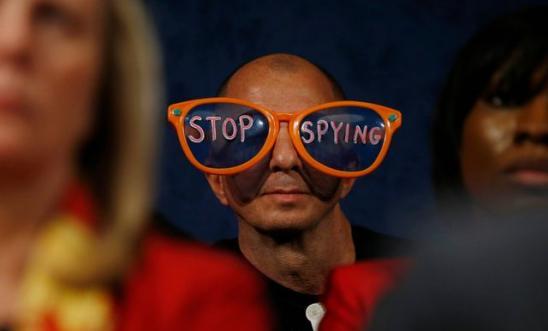 Protesta als EUA contra l'espionatge massiu a Internet / Jason Reed per a AI
