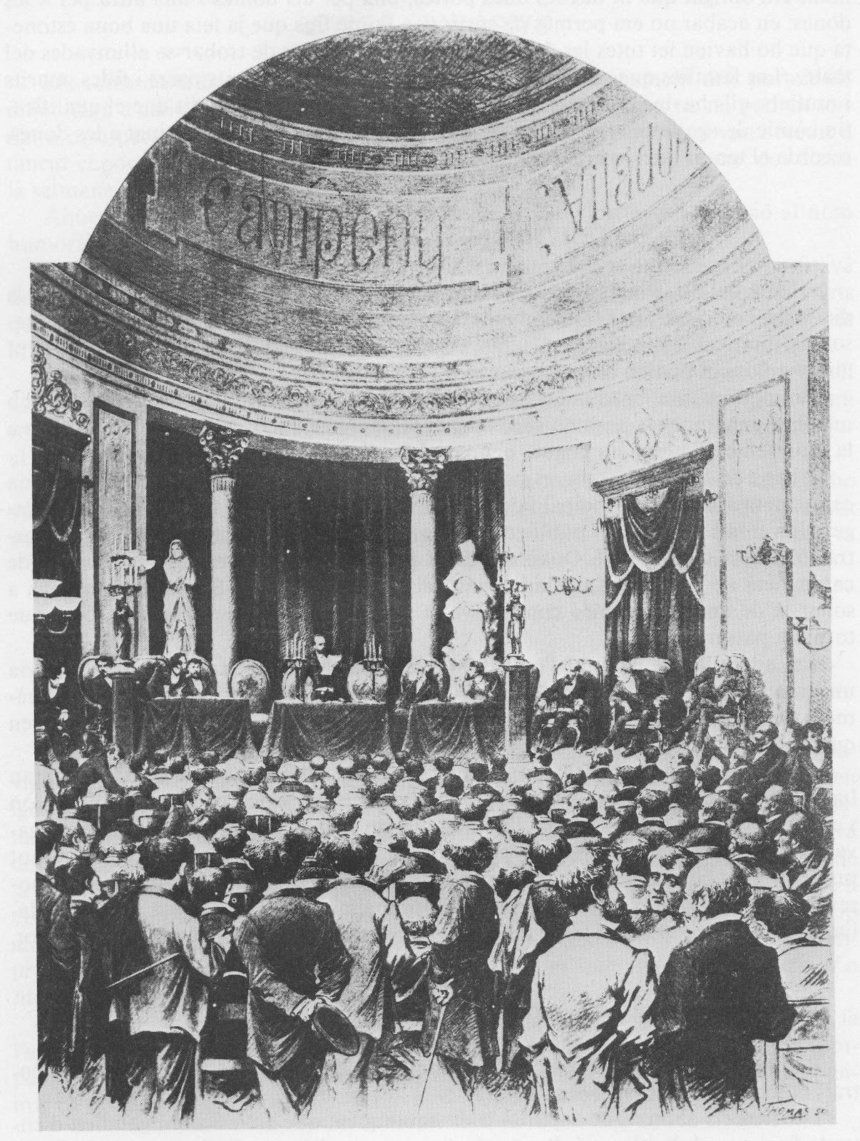 El Teatre Principal, primera seu de l'Ateneu Barcelonès
