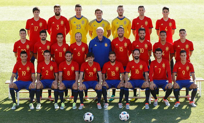 2016-06-05 Foto oficial Eurocopa 2016