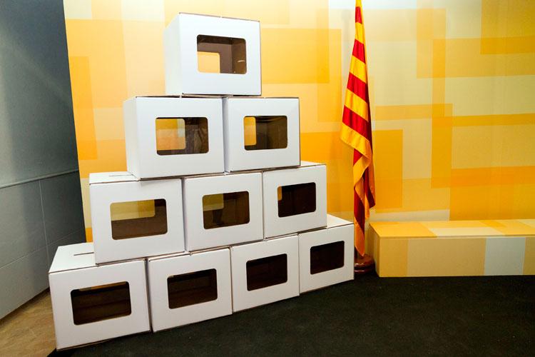 Urnes de la consulta del 9-N. Foto: Gencat.cat