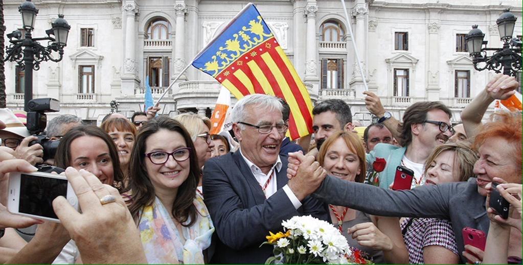 Joan Ribó serà alcalde de València. Foto: Coalició Compromís per València