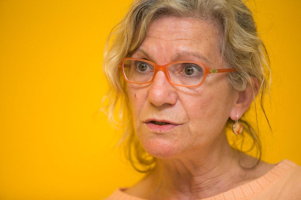 Maria José Lecha, regidora de la CUP a Barcelona. Foto: Jordi Borràs