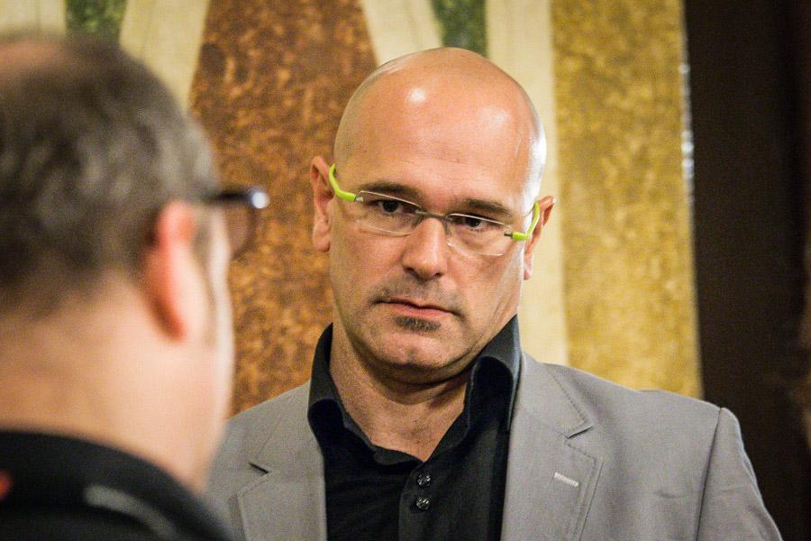 Raül Romeva encapçalarà la candidatura de CDC, ERC i la entitats sobiranistes. Foto: Jordi Borràs