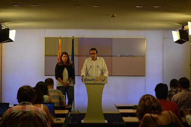 """Josep Rull ha catalogat l'operació com a """"espectacle mediàtic"""". Foto: CDC"""