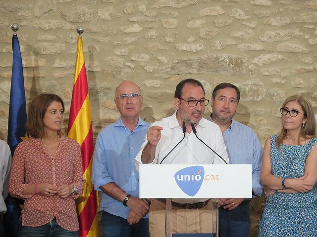 La candidatura de Ramon Espadaler és l'aneguet lleig del 27S.