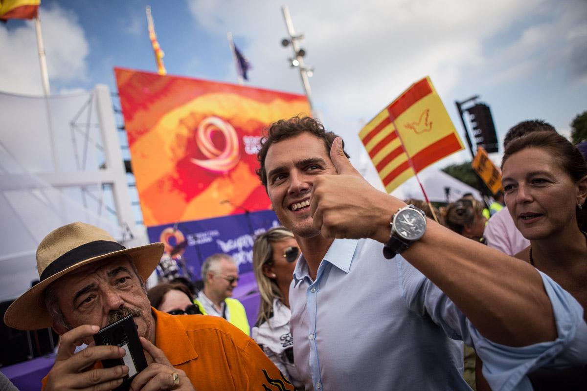 El partit d'Albert Rivera pot fer un gran resultat a les generals. Foto: Jordi Borràs
