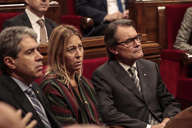 Algunes veus apunten que Neus Munté podria ser el relleu de Mas. Foto: Parlament.cat