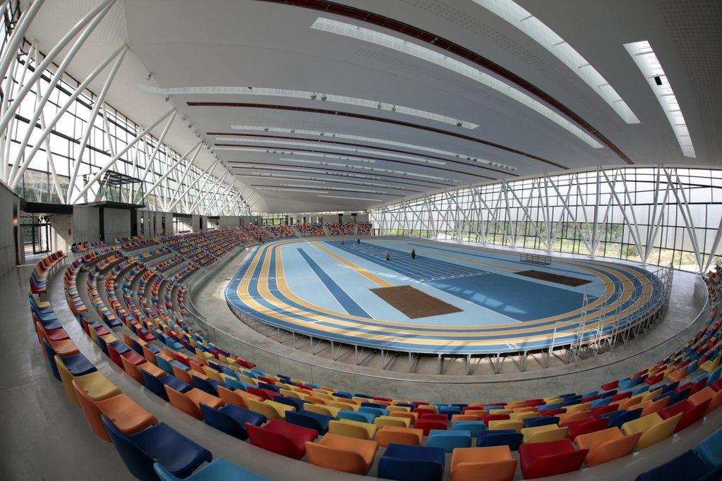 La pista coberta d'atletisme de Sabadell acull l'assemblea de la CUP.