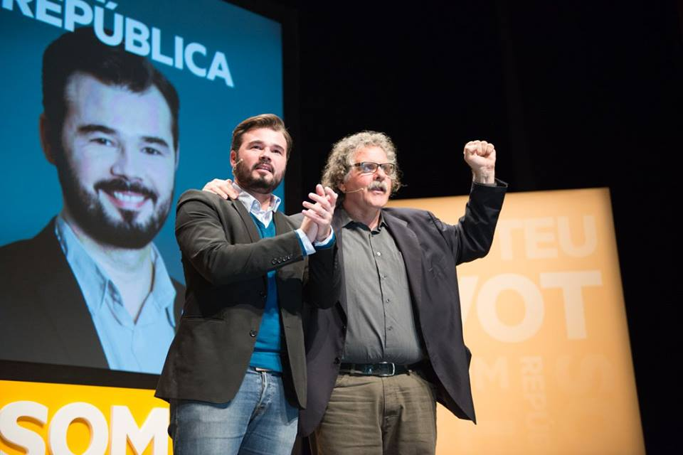 Gabriel Rufián i Joan Tardà, el tàndem d'ERC pel 20-D