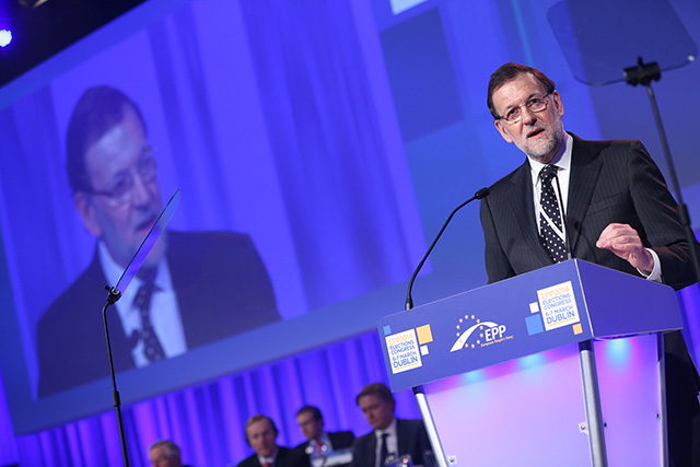Farà Rajoy un pas al costat? Foto: Partit Popular europeu
