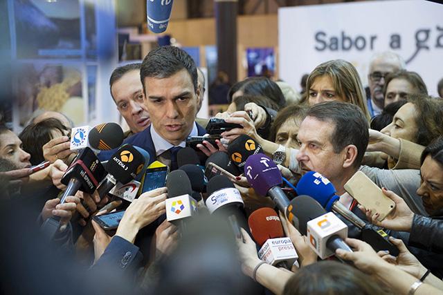 Pedro Sánchez rebrà fortíssimes pressions polítiques i mediàtiques. Foto: PSOE