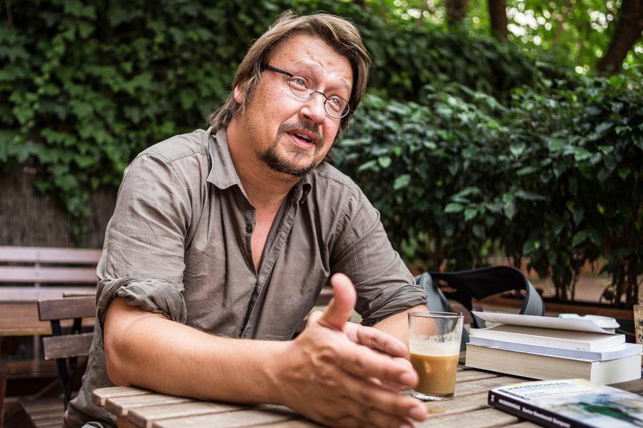 Xavi Domènech, candidat d'En Comú Podem. Foto: Jordi Borràs