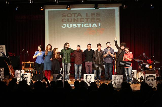 La cançó reivindica la memòria. Foto: Juan Miguel Morales
