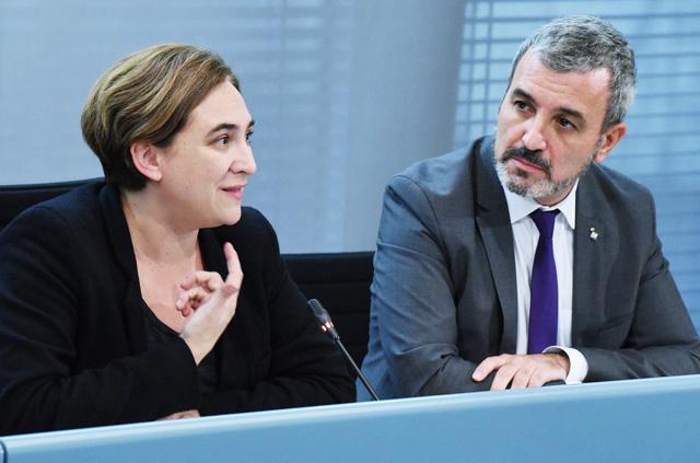 El pacte entre Barcelona en Comú i el PSC liderat per Jaume Collboni, cada dia més aprop. Foto: Ajuntament de Barcelona