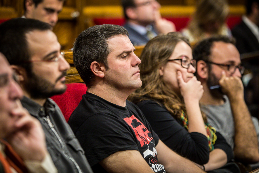 La negociació dels pressupostos farà saltar espurnes entre JxS i la CUP. Foto: Jordi Borràs.