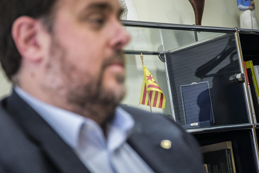 A ERC no veuen clar avançar la convocatòria del referèndum. Foto: Jordi Borràs