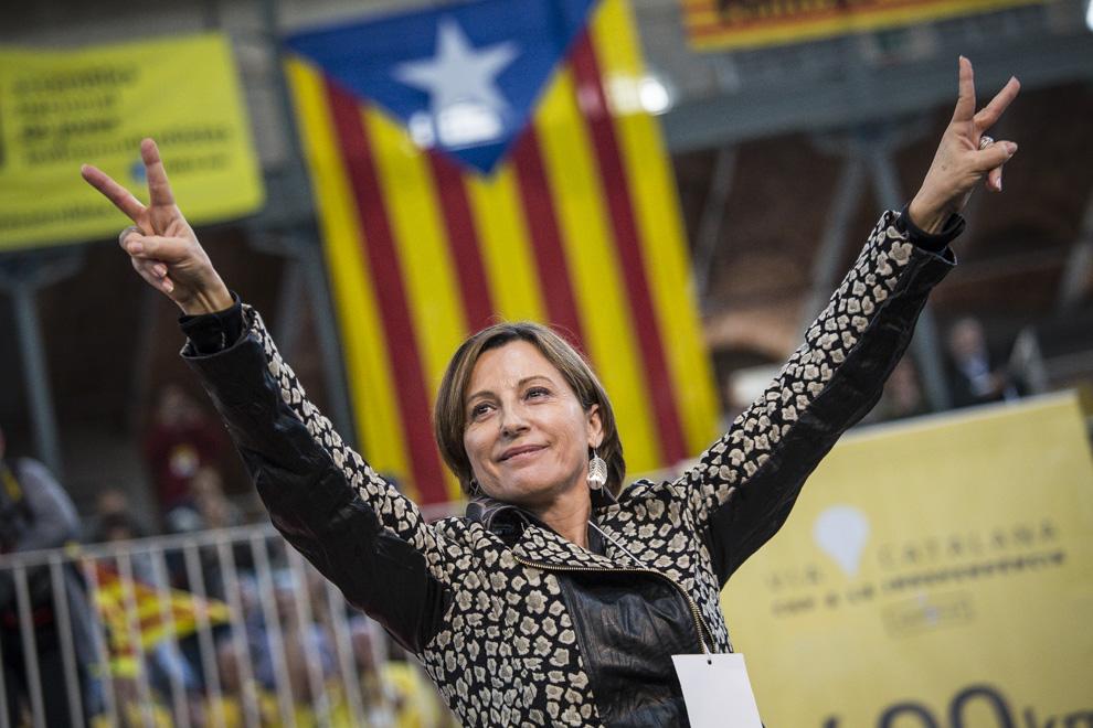 La inhabilitació de Carme Forcadell podria ser un punt d'inflexió del procés. Foto: Jordi Borràs