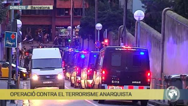Fotograma d'Els Matins, de TV3 / MARC FONT