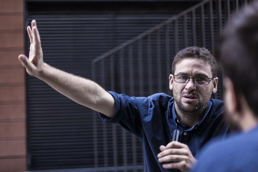 Albano Dante, entrevistat per CRÍTIC / XAVI HERRERO