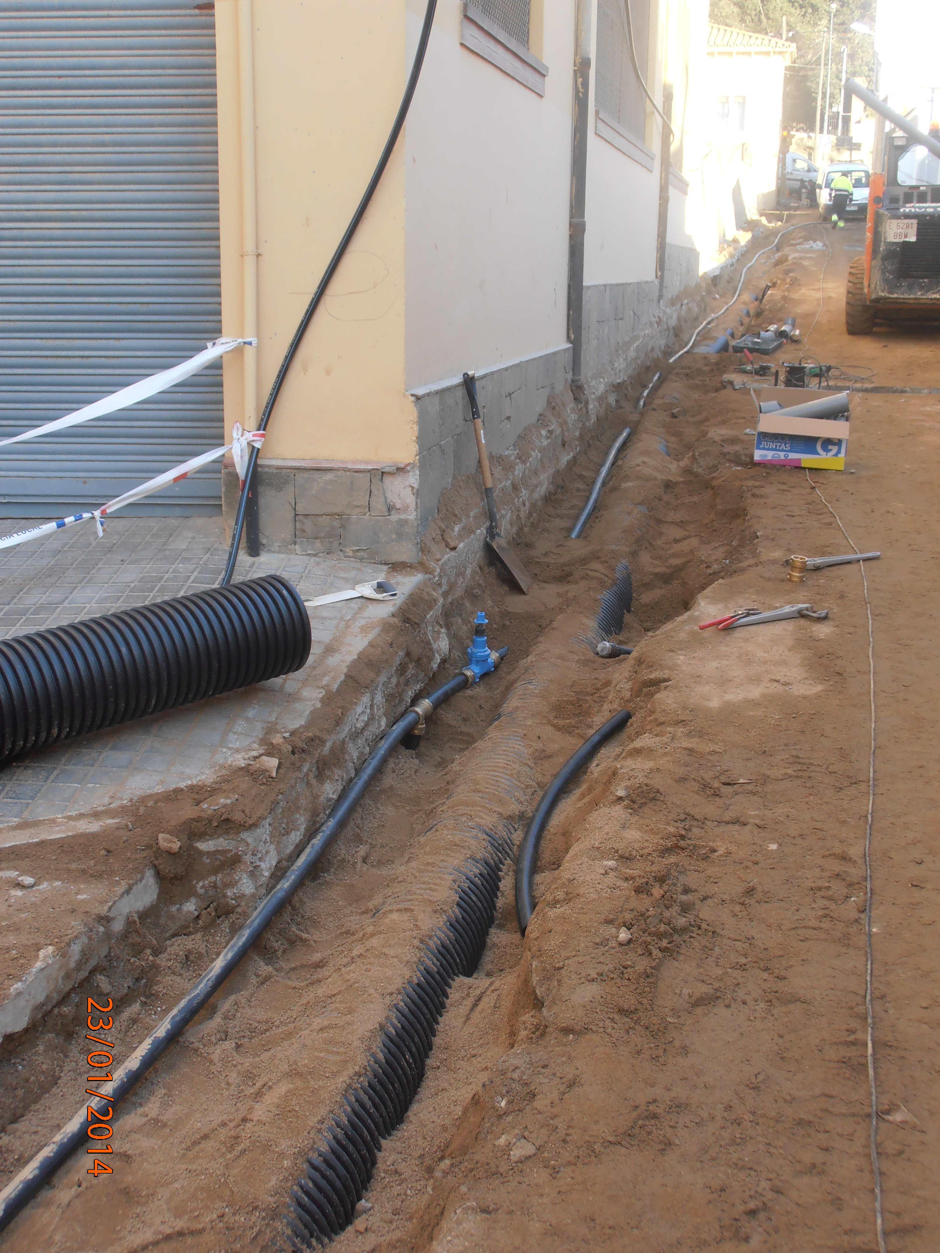 Tubs d'aigua a Arenys de Munt / CRITIC