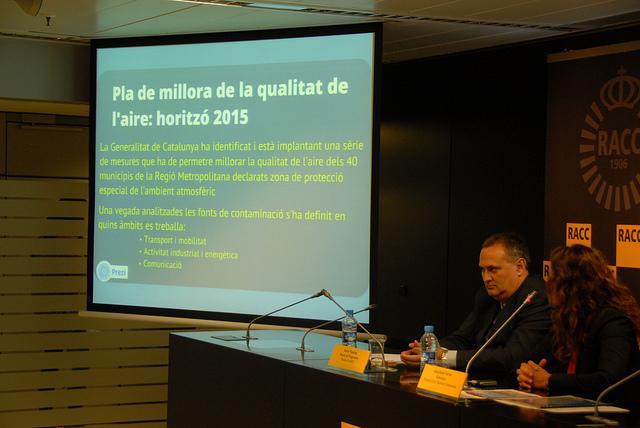 Els plans de millora d ela qualitat de l'aire impulsats per les administracions no sempre acaben de funcionar / Foto: Medi Ambient Generalitat de Catalunya