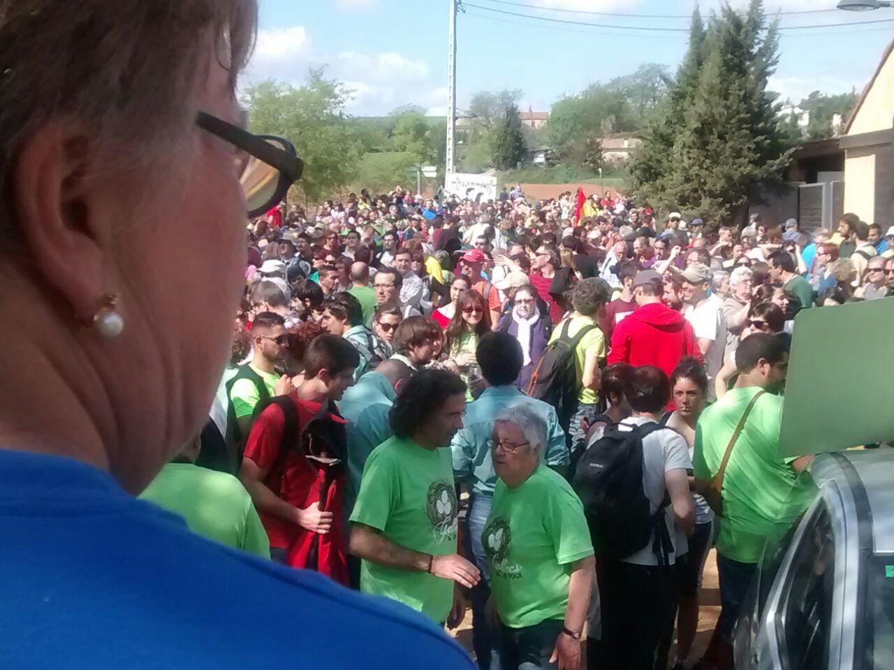 Marxa a favor de preservar Gallecs del passat 19 d'abril de 2015 / Quim Pérez