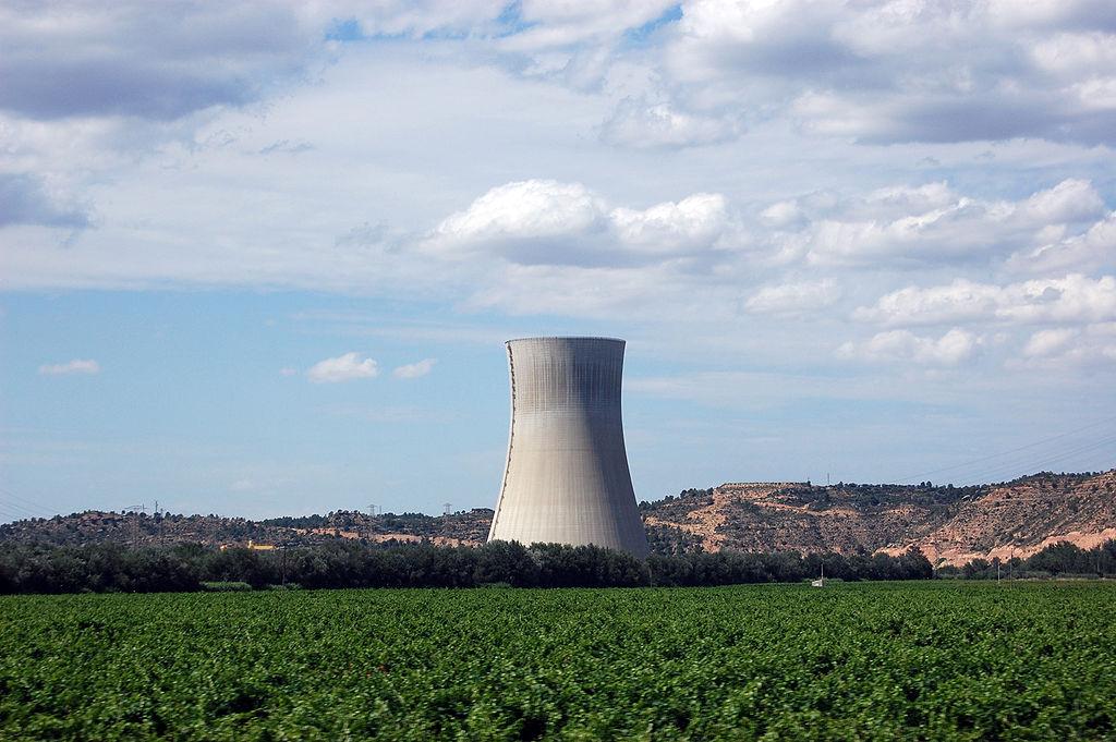 La Central Nuclear d'Ascó, a la Ribera d'Ebre.