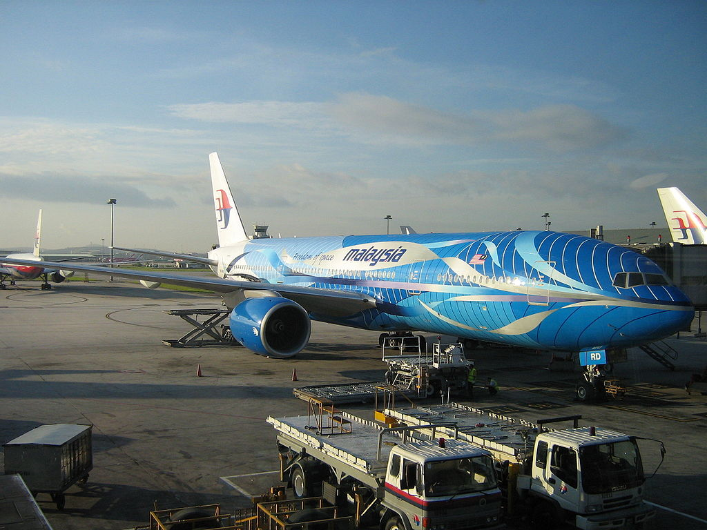 Boeing 777 de Malaysia Airlines
