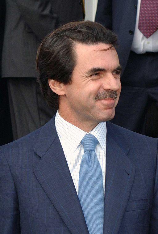 José María Aznar / Foto: USAF