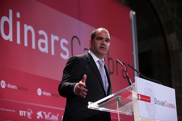 Carles Sumarroca Claverol. Foto: Cambra BCN