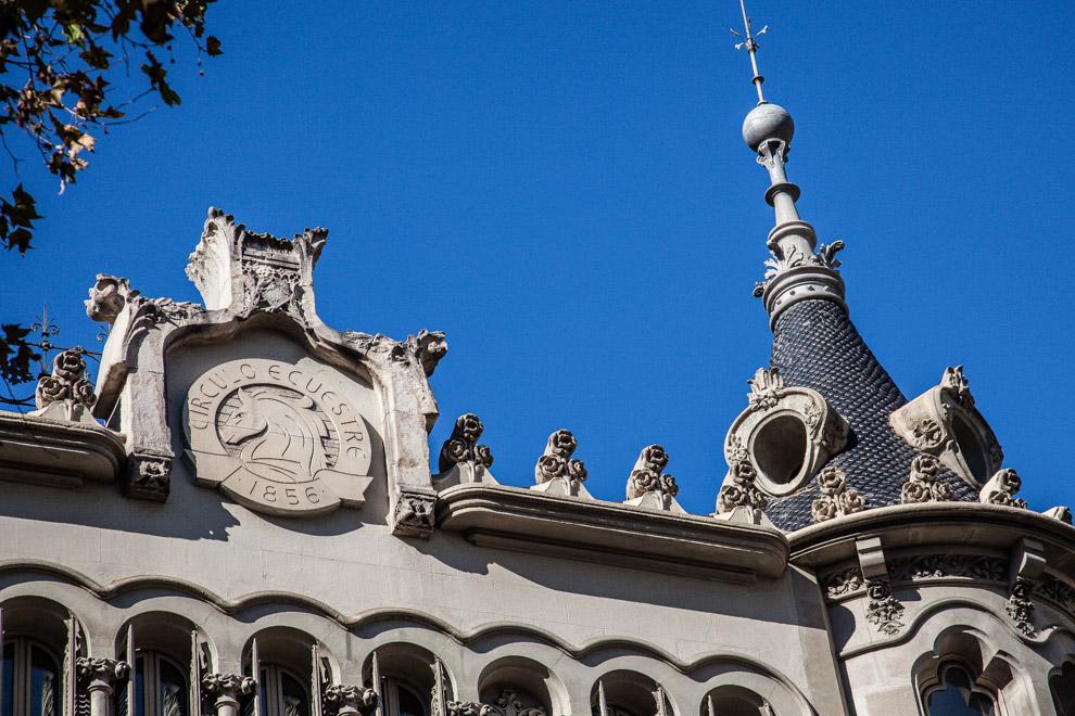 Seu del Círculo Ecuestre. Foto: Jordi Borràs