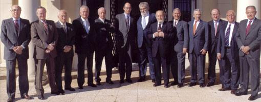 Junta directiva del Cercle d'Economia.