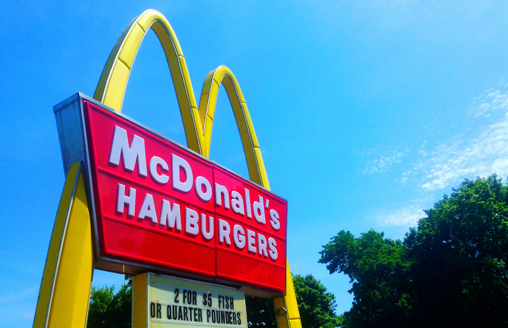 Un restaurant McDonald's als Estats Units / MIKE MOZART
