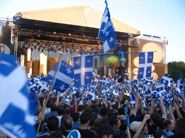 Celebració de la festa nacional del Quebec
