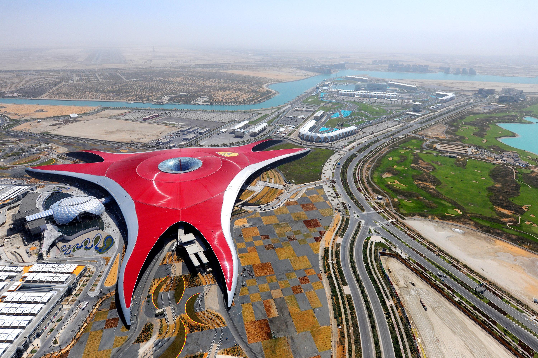 El Ferrari Land d'Abu Dhabi
