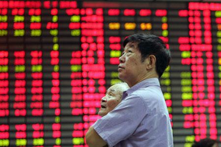 Els mercats bursàtils de la Xina han patit una forta caiguda / ARXIU