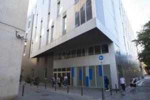 La seu del Conservatori del Liceu, estrenada el 2008. / XAVI HERRERO