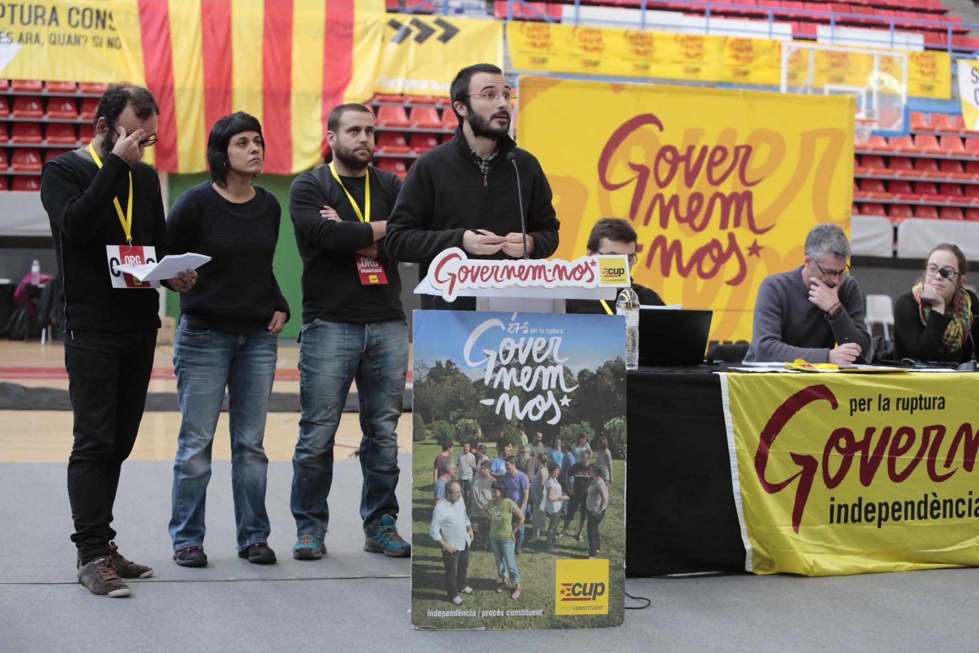 Albert Botran al debat nacional de Manresa / Foto: LLUÍS BRUNET