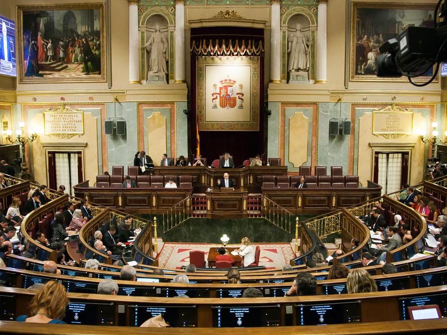 Hemicicle del Congrés dels Diputats / CONGRÉS